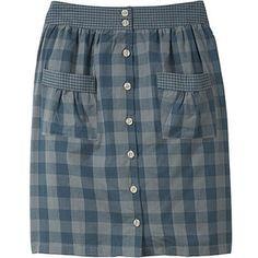 Men's dress shirt into a skirt!