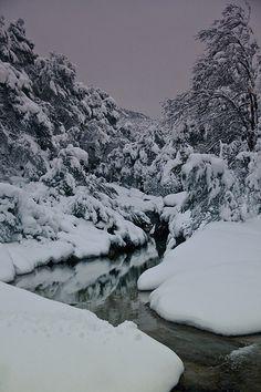 Els Tollets coberts de neu Capçanes  Catalonia, .#tarragona #catalonia #catalunya  #catalonia/tarragona #catalonia/catalunya