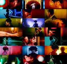 2046, a wonderfull film of Wong Kar Wai (2004).