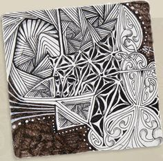 Zentangle - I would love to doodle like this!