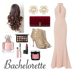 """""""Rachel"""" by lge21 ❤ liked on Polyvore featuring Exclusive for Intermix, Louise et Cie, Guerlain, MAC Cosmetics, NARS Cosmetics, Too Faced Cosmetics and NYX"""