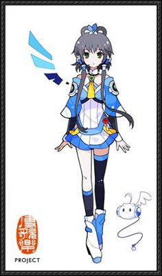 Vocaloid China - Luo Tianyi Chibi Doll Papercraft Free Download - http://www.papercraftsquare.com/vocaloid-china-luo-tianyi-chibi-doll-papercraft-free-download.html