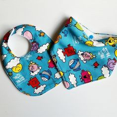 Image of Mr Men and Little Miss Toddler and Baby bibs Mr Men, Little Miss, Baby Bibs, Baby Shoes, Kids, Handmade, Image, Bibs, Children