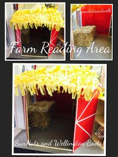 Our new reading area for the new topic - farm.