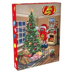 Buy Jelly Belly Advent Calendar, from our Advent Calendars range at John Lewis & Partners. Days To Christmas, Christmas Bells, Christmas Gifts, Christmas Tree, Gourmet Jelly Beans, Gable Boxes, Butter Popcorn, Jelly Belly, Hibiscus