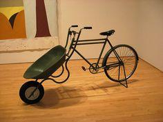 """Bikebarrow"" by Amy Franceschini"