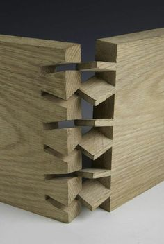 Twisted dovetail joint