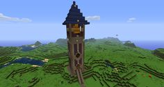 A Medieval town cant be cool without a medieval tower to warn it from mobs