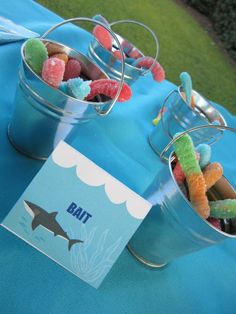Photo 1 of 17 Sharks Birthday Brants Birthday Party Swimming with the Sharks Catch My Party 6th Birthday Parties, Birthday Fun, Shark Birthday Ideas, Twin Birthday Themes, Mermaid Birthday, First Birthdays, Baby Shark, Shark Pool, Shark Party Favors