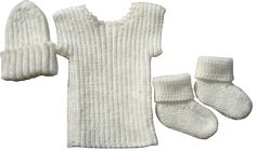 Knit World & Plunket Singlet, Socks/Booties & Beanies - Knit World