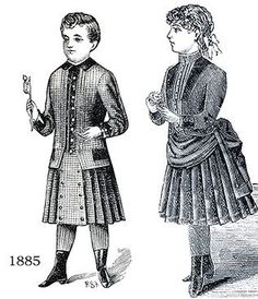 Kids Victorian Clothing