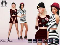 Eileen Dress at MXFSims • Sims 4 Updates