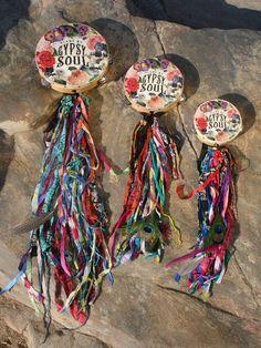 Gypsy Soul Tambourine. Blame My Gypsy Soul by BohoCircus on Etsy