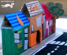 diy cardboard city