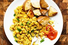 How To Scramble Tofu — Cooking Lessons from The Kitchn