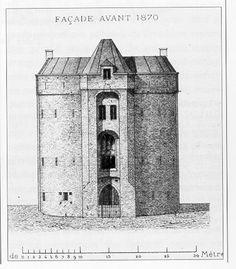 Hallepoort, Brussel, Na restauratie 1841