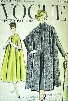 male pattern boldness: 50's Glam Alert -- The Opera Coat