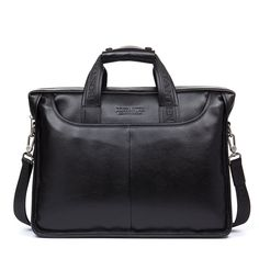 BOSTANTEN Leather Briefcase Laptop Handbag Messenger Business Bags for Men * Discover this special product, click the image : Christmas Luggage and Travel Gear