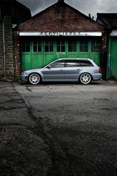 Audi S4 by Tim Wallace