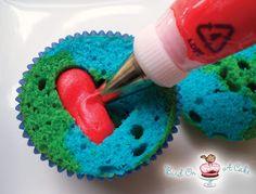 Bird On A Cake: Earth Day Cupcakes