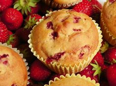 Make and share this Delicious Low-Fat Strawberry Banana Muffins recipe from Food.com.