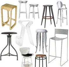 different bar stool designs