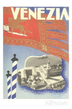 Venice Italy Poster    #TuscanyAgriturismoGiratola