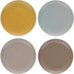 Bring autumn to the dinner table with these muted tones #dinnerware #dinnerset #habitat #entertaining #autumn
