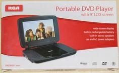 "RCA 9"" Portable DVD Player (DRC99391) - Black by RCA. $80.00. DRC:99391"