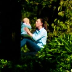Entertaining George. Oh so cute to see Kate happy and playing with her son, I love this.