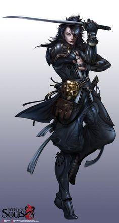 Legend of Souls by ukyo   Fantastique   Pinterest