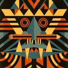 This is a traditional African masks today. There many colors used and it is more settled in design wise than the older ones. Africa Art, African Textiles, African Masks, African Culture, African Design, Tribal Art, Black Art, Oeuvre D'art, Art Projects