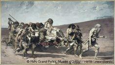 Fernand Cormon (1845-1924) Caïn 1880 Huile sur toile H. 400 ; L. 700 cm Paris, musée d'Orsay © RMN-Grand Palais (Musée d'Orsay) / Hervé Lewa...