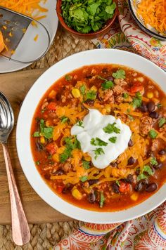 Syn Free Instant Pot Turkey Taco Soup | Slimming World Recipes Slimming Eats, Slimming World Recipes, Instant Pot Pressure Cooker, Pressure Cooker Recipes, Crock Pot Cooking, Cooking Recipes, Taco Seasoning Ingredients, Turkey Tacos, Taco Soup