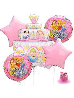 Princes balloons to decorate or celebrate or give to someone special