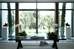 Project 13 - Luis Bustamante Console Styling, Entrance Hall, Windows, Living Room, Interior Design, Places, Furniture, Interiors, Home