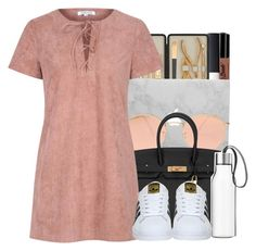 """""""5/18/2016"""" by ashcake-wilson ❤ liked on Polyvore featuring NYX, NARS Cosmetics, Czech & Speake, Ray-Ban, Hermès, Glamorous, Eva Solo and adidas"""