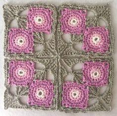Transcendent Crochet a Solid Granny Square Ideas. Inconceivable Crochet a Solid Granny Square Ideas. Form Crochet, Crochet Blocks, Granny Square Crochet Pattern, Crochet Squares, Crochet Motif, Crochet Designs, Crochet Flowers, Crochet Patterns, Crochet Granny