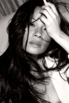pinterest.com/fra411 #beauty - Lucy Liu❤❤ Goddess ❤❤ to me a dream combination: Asian and Freckels,wauw !