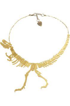 Super unique Dinosaur Necklace - Tatty Devine
