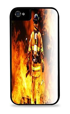 Fireman with Axes in Front of Flames Design Black 2-in-1 Protective Case with Silicone Insert for Apple iPhone 5 / 5S Trendy Accessories http://www.amazon.com/dp/B00RN3YSXC/ref=cm_sw_r_pi_dp_DqNQub1FJ6WK0