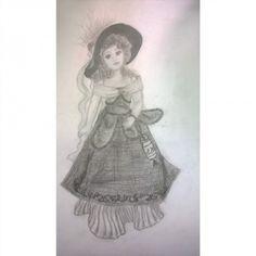 #myart #art #rysunek #szkic #ołówek #drawing #sketch #doll #victorian #victorianstyle #lalkaporcelanowa #stylwiktoriański My Arts, Drawing, Instagram Posts, Drawings, Paint, Draw