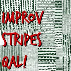 So the Improv Stripes QAL begins today! Start by cutting a bunch of skinny strips. Lengths do not matter, but if you want a look . Stripe Quilt Pattern, Striped Quilt, Easy Quilt Patterns, Quilting Tips, Quilting Tutorials, Quilting Projects, Scrappy Quilts, Easy Quilts, Patchwork Tutorial