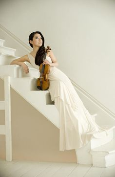 Sarah Chang. World class violinist.