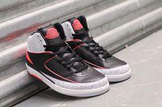 the best attitude d90fd 53e81 Air Jordan 2 Retro Black Infrared 23-Pure Platinum-White. Share more