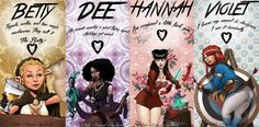 The Rat Queens, four foul-mouthed adventure-loving women who are just looking for a good time.