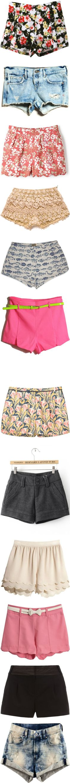 """""""pretty shorts."""" by diana1990 ❤ liked on Polyvore"""