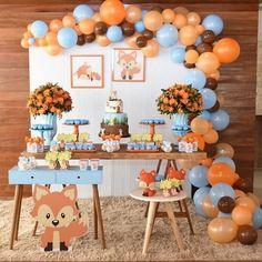 Spongebob Birthday Party, 1st Boy Birthday, 1st Birthday Parties, Birthday Party Decorations, Party Themes, Birthday Themes For Boys, Idee Baby Shower, Boy Baby Shower Themes, Baby Boy Shower