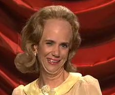 I highly respect Kristen Wiig for everything she has done for the Laurence Welk Show :)
