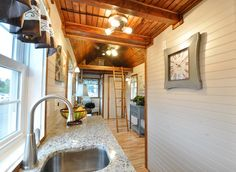 Granite Countertop - Pioneer by Tiny House Building Company